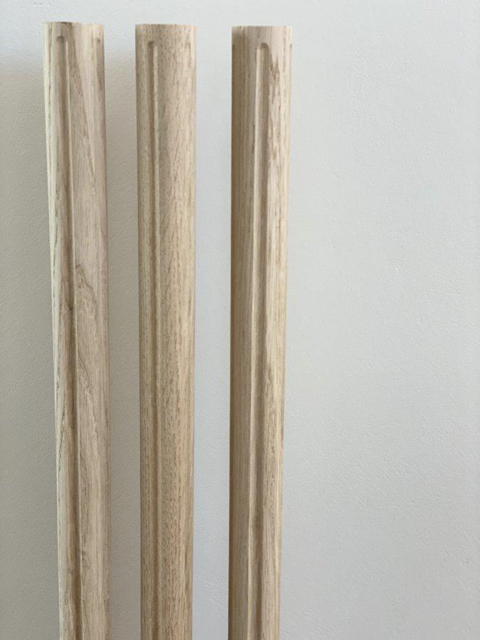 Virpoti - frēzēti koka reliņi- Forma 3