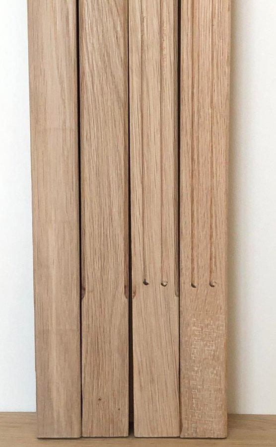 Frēzēti koka reliņi - Forma 9