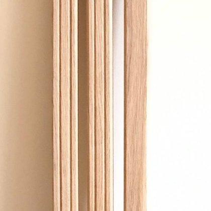 Frēzēti koka reliņi (Forma 9)